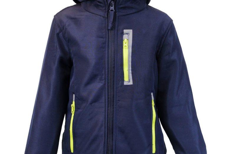 Kinder Jungen Softschelljacke Outdoorjacke Übergangsjacke Jacke Blau