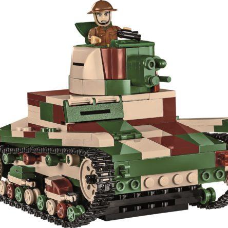 Konstruktionsspielzeug Vickers Mk. E Typ B – Britischer leichter Panzer Tanks Bausteine