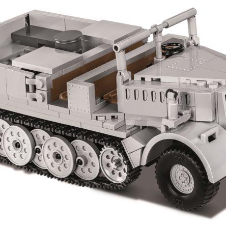 Konstruktionsspielzeug kleine Armee Sd.Kfz 9 Famo – ein schwerer Artillerietraktor Bauklötzen Bausteine