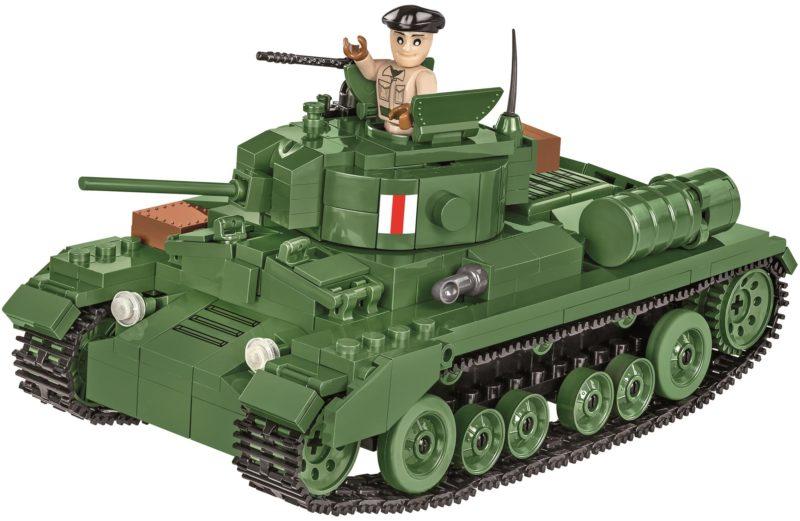 Konstruktionsspielzeug kleine Armee Valentine Mk.III – Britischer Infanteriepanzer Tanks Bauklötzen Bausteine